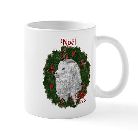 Angora Goat Noel Mug