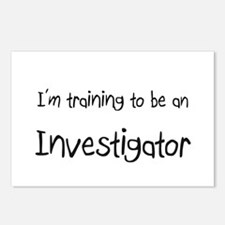 I'm Training To Be An Investigator Postcards (Pack