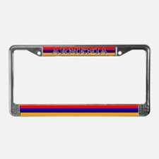 Armenia Armenian Blank Flag License Plate Frame