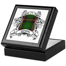 Young Tartan Shield Keepsake Box