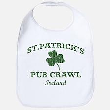 Ireland pub crawl Bib
