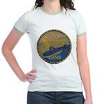 USS SCAMP Jr. Ringer T-Shirt
