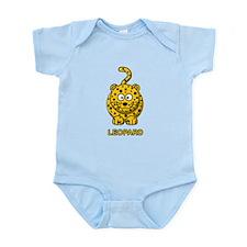 Cartoon Leopard Infant Bodysuit