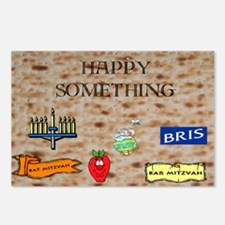 Jewish Holiday Postcards (Package of 8