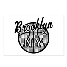 Brooklyn NY Basketball Postcards (Package of 8)