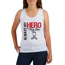 Brain Cancer Hero Son Women's Tank Top