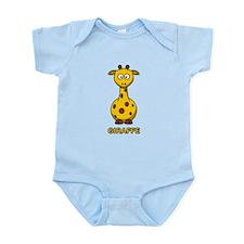 Cartoon Giraffe Infant Bodysuit