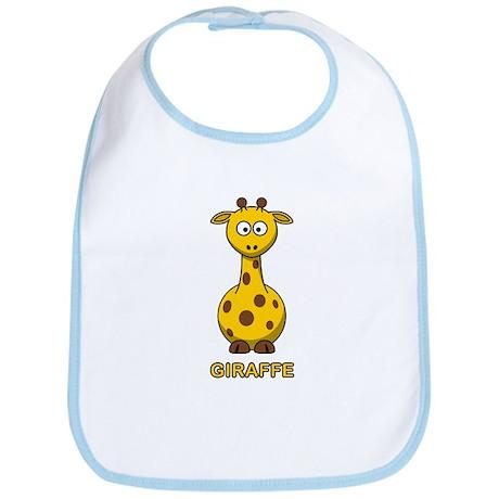 Cartoon Giraffe Bib