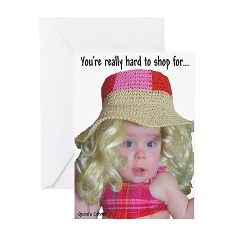 Your're Really Hard To Greeting Card