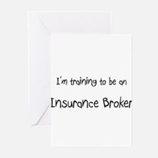 I'm Training To Be An Insurance Broker Greeting Ca