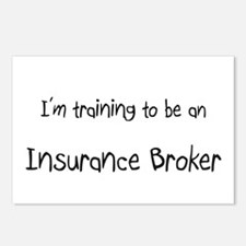 I'm Training To Be An Insurance Broker Postcards (