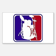 Major League Drums Rectangle Decal