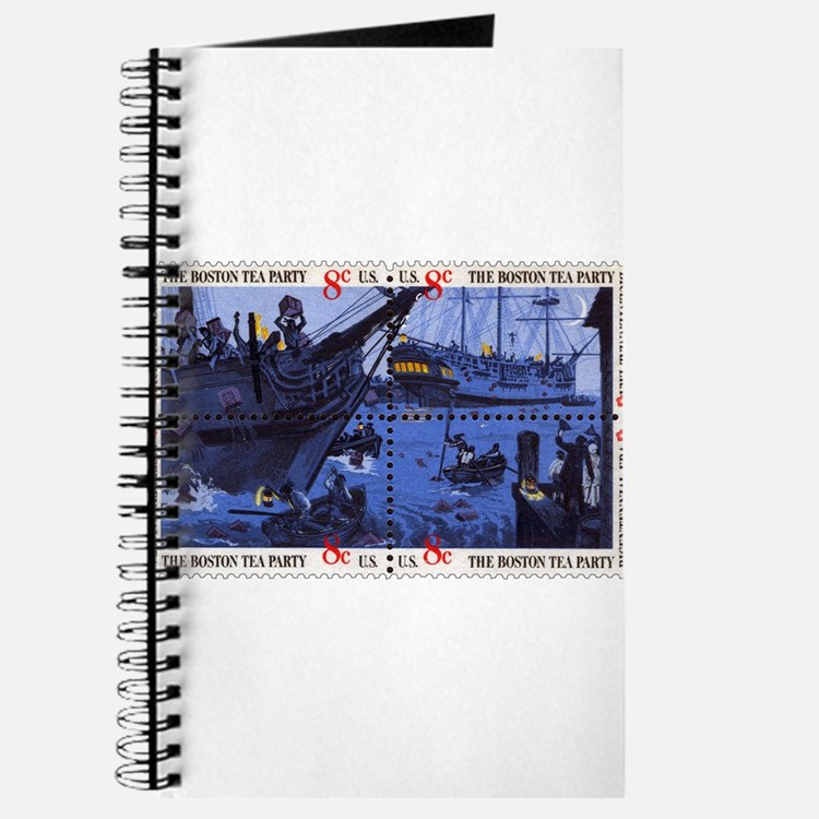 Cute Boston tea party Journal