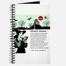 Unique Haunted mansion Journal