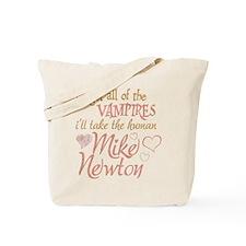 Twilight Mike Newton Tote Bag