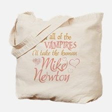 Twilight Mike Newton Tote Bag