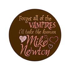 """Twilight Mike Newton 3.5"""" Button"""