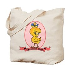 Ukrainian Chick Tote Bag