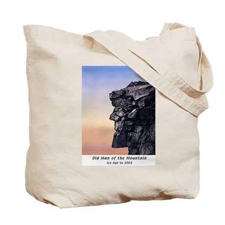 Old Man of the Mountain Dusk Tote Bag