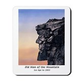 Old man of the mountain Classic Mousepad