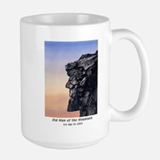 Old Man of the Mountain Dusk Large Mug