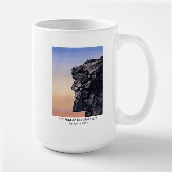 Old Man of the Mountain Dusk Large Mug