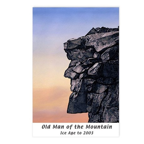 Old Man of the Mountain Dusk Postcards (pkg of 8)
