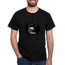 Flag Map of Jordan T-Shirt