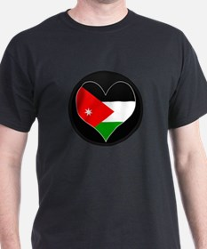 I love Jordan Flag T-Shirt