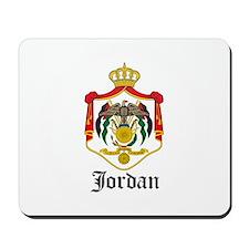 Jordanian Coat of Arms Seal Mousepad