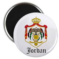Jordanian Coat of Arms Seal Magnet