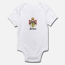 Jordanian Coat of Arms Seal Infant Bodysuit