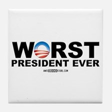 Worst President Ever Tile Coaster
