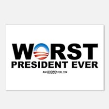 Worst President Ever Postcards (Package of 8)