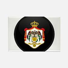 Coat of Arms of Jordan Rectangle Magnet