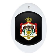 Coat of Arms of Jordan Oval Ornament
