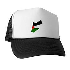 Jordan Flag Map Trucker Hat