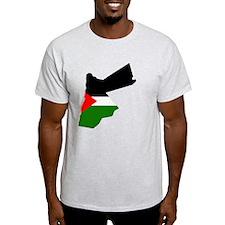 Jordan Flag Map T-Shirt