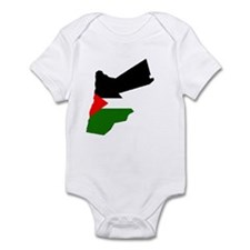 Jordan Flag Map Infant Bodysuit