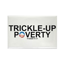 Trickle-Up Poverty Rectangle Magnet (100 pack)