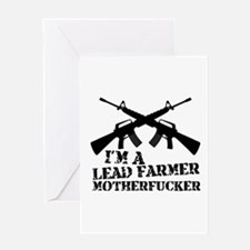 im a lead farmer tropic thunder Greeting Card