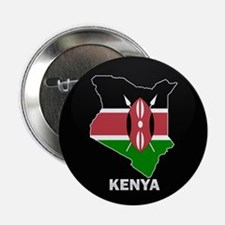 "Flag Map of kenya 2.25"" Button (10 pack)"