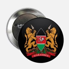 "Coat of Arms of kenya 2.25"" Button (10 pack)"