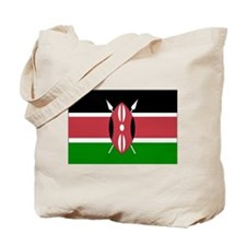 kenya Flag Tote Bag