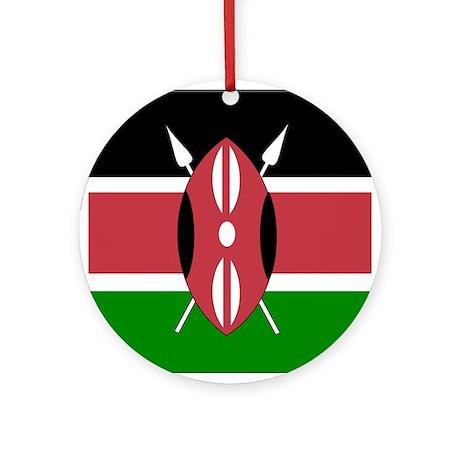 Kenyan Ornament (Round)