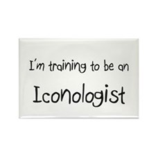 I'm Training To Be An Iconologist Rectangle Magnet