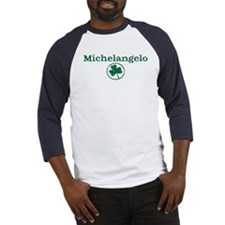 Michelangelo shamrock Baseball Jersey