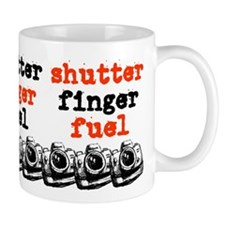 Shutter Finger Fuel Coffee Mug