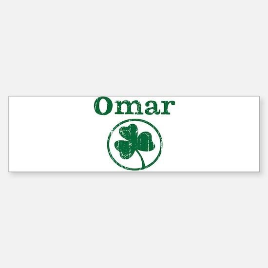 Omar shamrock Bumper Bumper Bumper Sticker