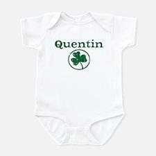 Quentin shamrock Infant Bodysuit
